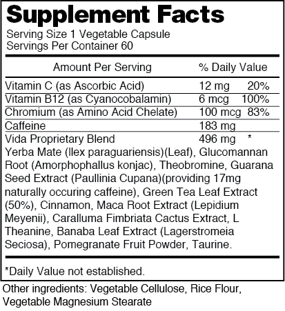 Atom nutrition facts